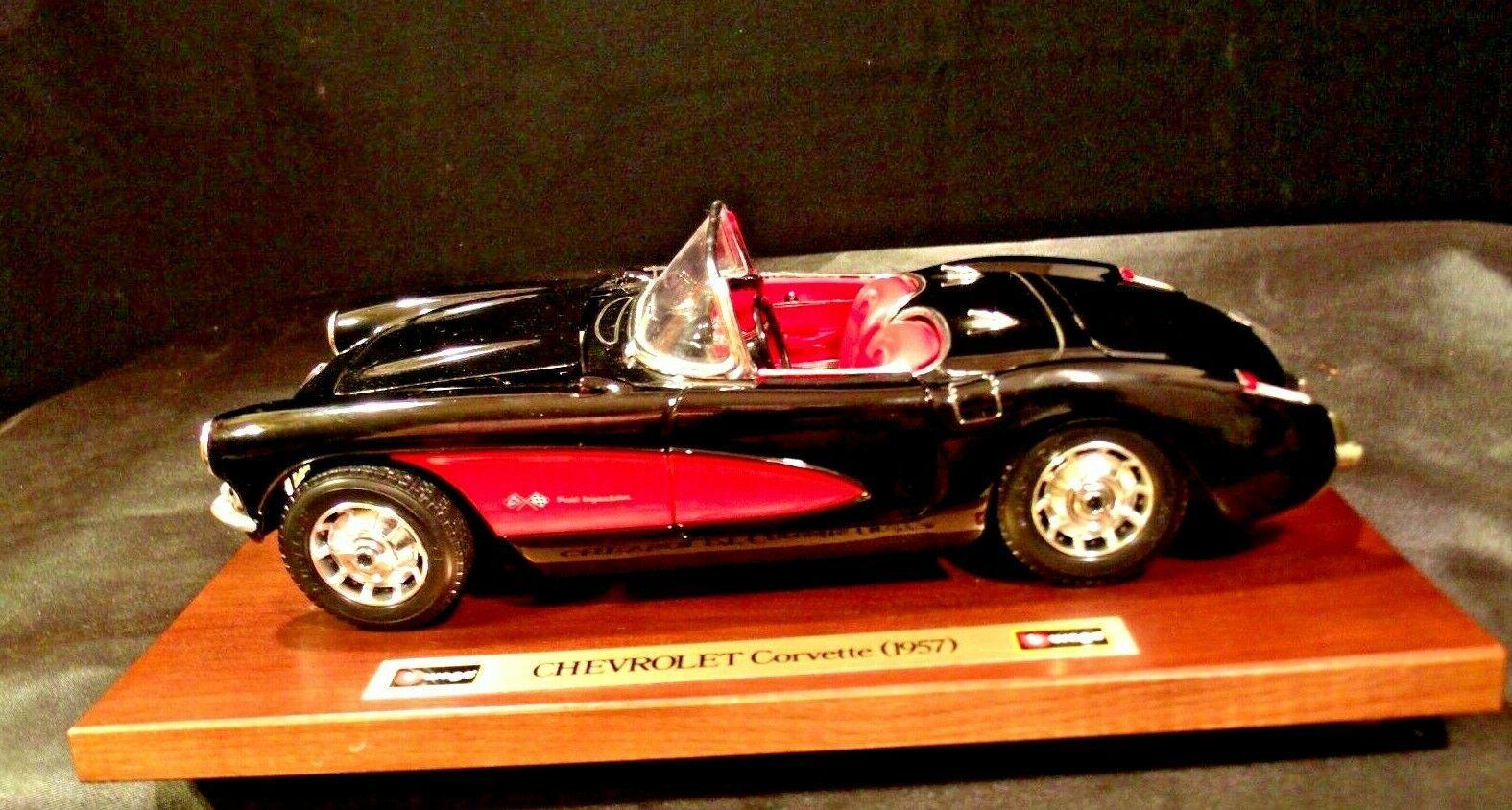 1957 Chevrolet Corvette Burago Die-cast AA-191741 Vintage Collectible