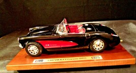 1957 Chevrolet Corvette Burago Die-cast AA-191741 Vintage Collectible