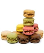 French Almond Macarons Gift – 72 pcs – Assorted Macaroons Cookies - Impo... - $94.99