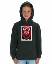 Marvel Studios Black Widow Red Lightning Print Children's Unisex Black H... - $31.69
