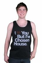 I Love You But I've Chosen House Music Black Tank Top