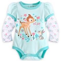 "Disney Store Bambi ""Oh So Deer"" Bodysuit for Baby Sz 9-12mos 12-18mos 18... - $19.99"