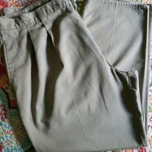 Farah Brand ~ Men's 42 x 30 ~ Khaki (Beige) in Color ~ Cotton Pants - $30.00