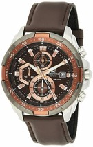 Casio Edifice Chronograph Brown Dial Men's Watch - EFR-539L-5AVUDF (EX194) - $169.15