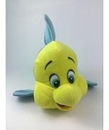 "Disney The Little Mermaid Flounder Fish 15"" Plush Stuffed Animal Toy - $20.74"