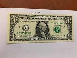 United States Washington $1.00 uncirc. banknote 2009  #4 - $6.50
