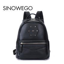 New Fashion Crocodile Kanken Backpack Female Backpack Schoolbag Mini Bac... - $106.87 CAD