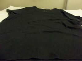 J. Jill Pima Cotton Short Sleeve Tee in Sz. 4X  Navy Blue - $14.84