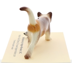 Hagen-Renaker Miniature Ceramic Cat Figurine Calico Prowling with Mouse image 4