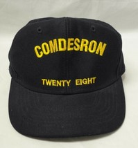 COMDESRON Twenty Eight Baseball Cap Hat USN Navy Destroyer Squadron 28 N... - $9.74