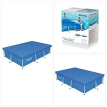 """Bestway 58106 Swimming Pool Cover for 118"""" x 79"""" Pools - $37.39"""