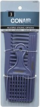 Conair 14498z 3 Piece Styling Essentials Multiple Styling Options Combs, 1.6 Oun - $5.93