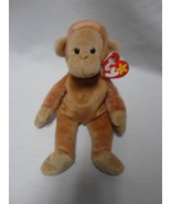 TY Beanie Baby Bongo the Monkey August 17th 1995 - $7.75