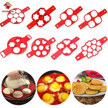 Nonstick Cooking Pancake Maker Tool Egg Ring Pan Flip Omelette Cheese Co... - $4.12 CAD+