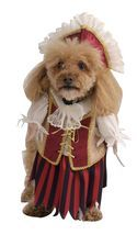 Adorable Pet Dog Costume: Brown Pirate King/Queen, Pink Princess, Witch ... - $4.89+