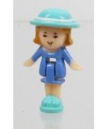 1993 Vintage Lot Polly Pocket Doll Wedding Chapel - Midge Bluebird Toys - $7.50
