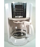 MR. COFFEE  12 CUP COFFEE MAKER WHITE AUTOMATIC 2003398 - $19.95