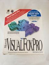 Microsoft Visual FoxPro 3.0 Upgrade (Pro Edition) Complete image 3