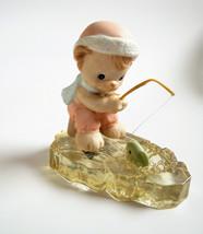 Precious Moments Porcelain Figurine Wishing You A Yummy Christmas (1998)... - $14.35