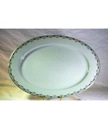 """Royal Bayreuth Antique Circa 1912 Pink Floral Swags Oval Platter 16"""" - $37.17"""