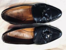 Allen Edmonds Grayson Black Leather Tassel Leather Sole Mens Sz 11.5 D - $62.99