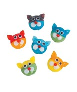 Cat Lampwork Beads, 19mm x 15mm, 2mm hole, pack of 24 - $13.99