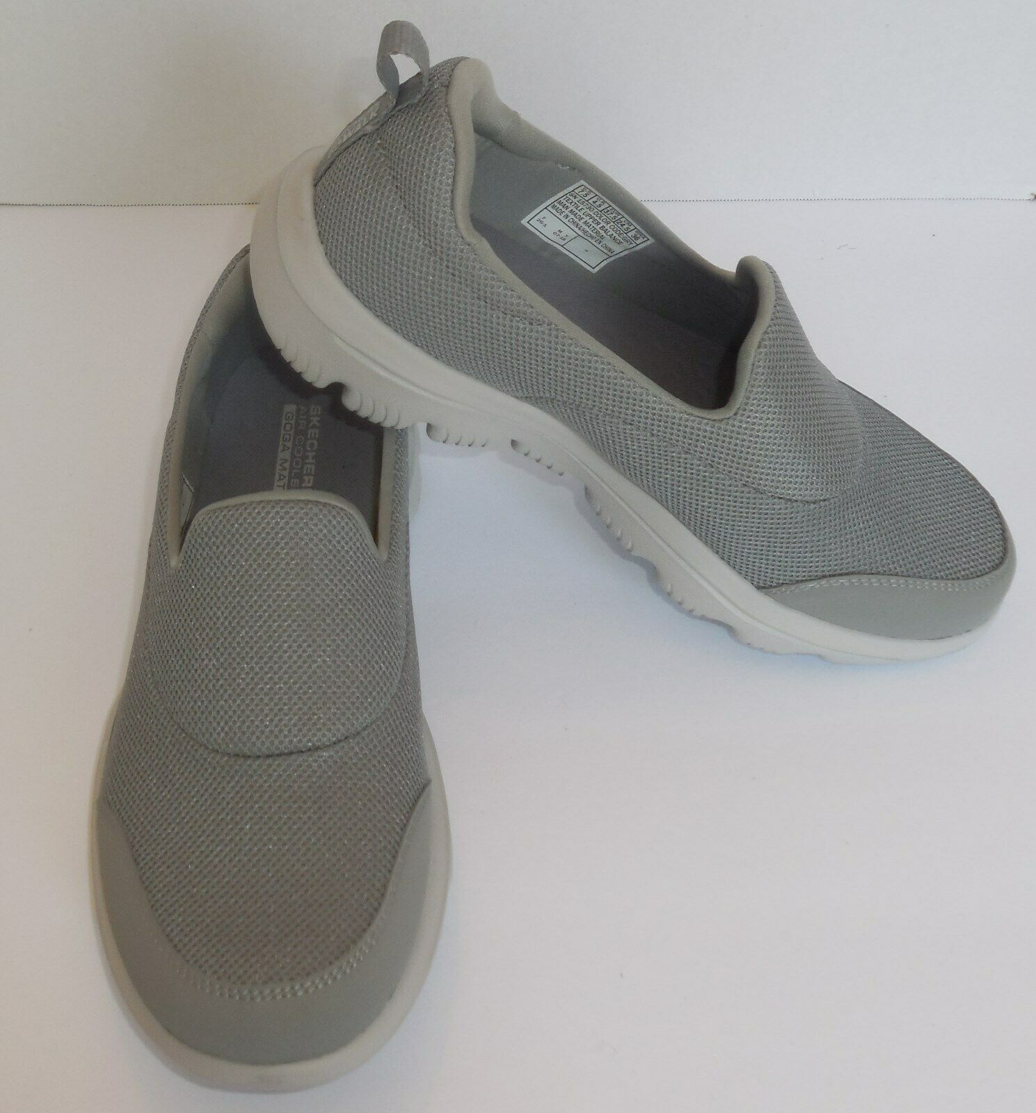 Primary image for Skechers Go Walk Evolution Ultra Reach Womens 7.5 Shoes Grey Gray New 15730