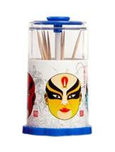 Nostalgic Chinese Style Portable Hand Pressure Automatic Toothpick Holder - $15.81