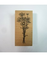 Bouquet of Daisies Daisy Wood Mounted Rubber Stamp by Graphic Rubber Stamp - $8.50