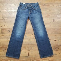 Abercrombie Kids Boys Girls Sz 10 Blue Jeans Straight Leg Denim - $18.75