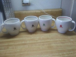 Starbucks Abbey cups set of 4 - $24.74