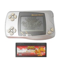 Bandai WonderSwan Pocket Silver Console with Digimon Adventure Game Color  - $54.45