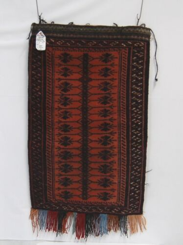 Genuine hand Woven Large Pillow Bag Red 24 by 36 inches
