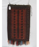 Genuine hand Woven Large Pillow Bag Red 24 by 36 inches - $496.00