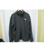 The North Face Dark Gray Fleece Jacket For Men Size XL - $18.99