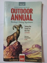 TPW Outdoor Annual 2016-2017 Hunting & Fishing Regulations - $5.05