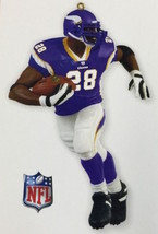 Hallmark 2011 NIB-SDB Football Legends #17 Adrian Peterson NFL Vikings O... - $13.95