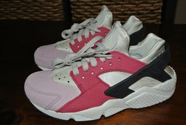 NIKE WMNS AIR HUARACHE RUN PREMIUM LIGHT BONED 683818 006 US WMNS Shoe Sz 5 - $58.79
