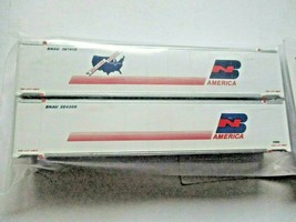 Fox Valley Models # FVM 891302 BN Welcome 48' Container 2/Pack  N-Scale image 1