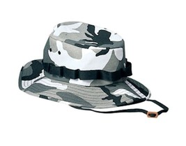 Urban Camouflage Bonnie Jungle Hat High Quality Rothco 5550 City Camo - $7.49