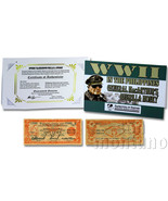 WWII IN THE PHILIPPINES: General MacArthur's Guerilla Money - 5 Peso Ban... - $17.34 CAD