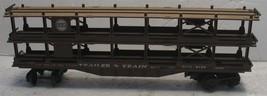 Vtg Lionel N&W Trailer Train RTTX 9129 Brown Railroad O Car Untested - $18.81