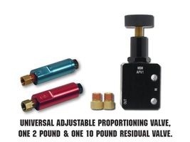Adjustable Proportioning Valve With 2lb & 10lb Residual Valve Kit Disc/Drum image 3
