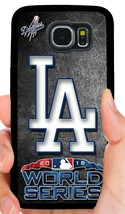 LA DODGERS WORLD SERIES PHONE CASE COVER FOR SAMSUNG NOTE GALAXY S4 S5 S... - $14.97