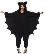Bat Kigarumi Funsie Womens Costume Adult Black One-Piece Halloween UA85552 - $69.99