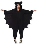 Bat Kigarumi Funsie Womens Costume Adult Black One-Piece Halloween UA85552 - $69.99