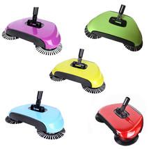 Push Type Stainless Steel Sweeping Machine Hand Broom Dustpan Handle Swe... - $35.99