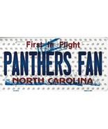 Panthers North Carolina State Background Metal License Plate Tag (Panthe... - $11.35