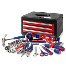 WORKPRO Home Tool Set with Chest General Tool Kit in Tool Case 125-Piece - $122.47