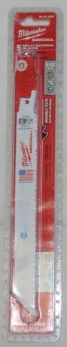 Milwaukee 48004093 Sawzall Blade 5 Pack Multi Material Blades